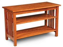 """Mission Widescreen Open TV Stand, Mission Widescreen Open TV Stand, 50""""w"""