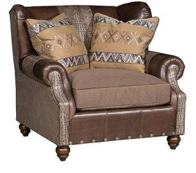 Lucy Leather Fabric Chair