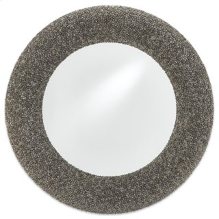 Batad Shell Mirror, Round - 42.5h x 42.5w x 2.75d