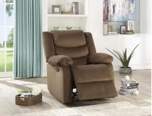 8016 Brown Recliner