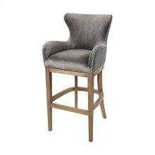 Roxie Grey Bar chair