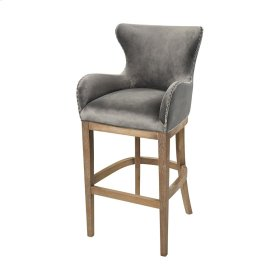 Roxie Grey Bar chair