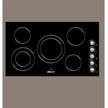 Black Glass Electric Cooktop