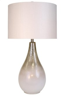Enjoy This Beautiful Glass Lamp That Also Lighgts From Within As A Nightlight And Is Topped With A P