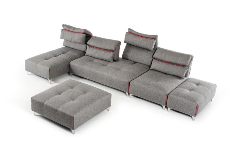barley naomi sofa sectional fabric modern