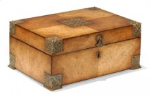 Lockable Deeds Style Box (Satinwood)