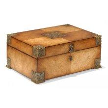 Lockable Deeds Style Box (Satinwood)