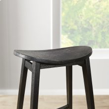 "York 29"" Scoop Saddle Stool"