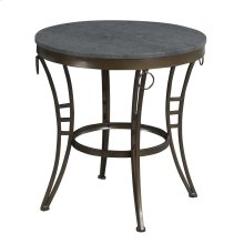 Emerald Home Emmerson Round End Table-t229-01