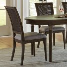 Joelle - Woven Side Chair - Carbon Gray Finish Product Image