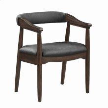 Modern Craftsman Grey Armchair