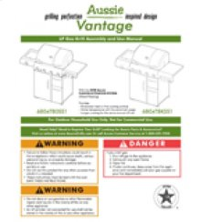 Vantage 6804T80-6804T8K Series Owners Manual (Free Downloads)