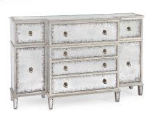 Silver and Eglomise Buffet