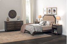 SYO Curved Panel Headboard with Wood Frame, SYO Curved Panel Headboard with Wood Frame, Queen