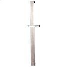 Handshower sliding rail only Pivotable hook Requires handshower 20154 or 14376, flex hose 01637 and wall elbow 26669 Product Image