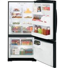 GE® ENERGY STAR® 23.1 Cu. Ft. Bottom Freezer Refrigerator