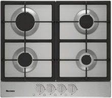 "24"" gas cooktop, 4 burner"
