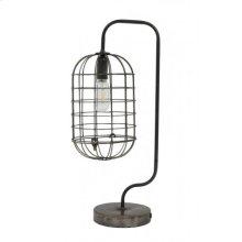 Table lamp LED 25x18,5x56 cm KALIL dark grey incl lamp