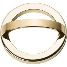 Tableau Round Base and Top 2 1/2 Inch - French Gold
