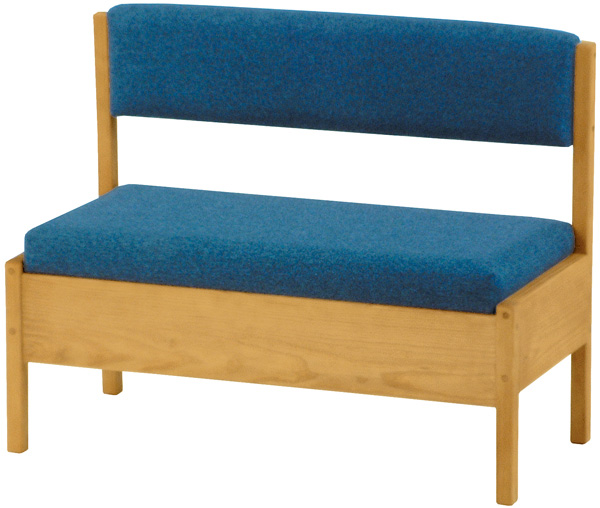 Small Storage Bench With Back