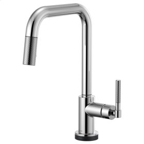 Smarttouch® Pull-down Faucet With Square Spout and Knurled Handle