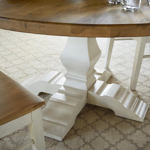 """Bench*Made Maple 72"""" Tavern Table"""