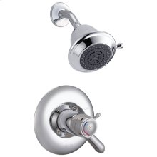 Chrome Universal Thermostatic Shower Trim
