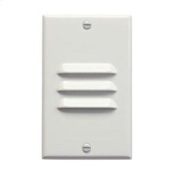 LED Step Light Vertical Louver WH