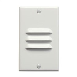 LED Step Light Vertical Louver WH