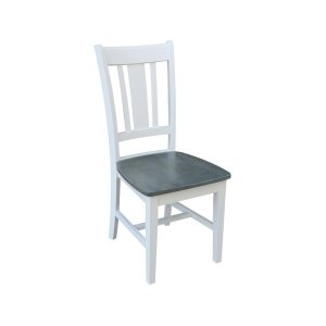 JOHN THOMAS FURNITURESan Remo Chair in White Grey