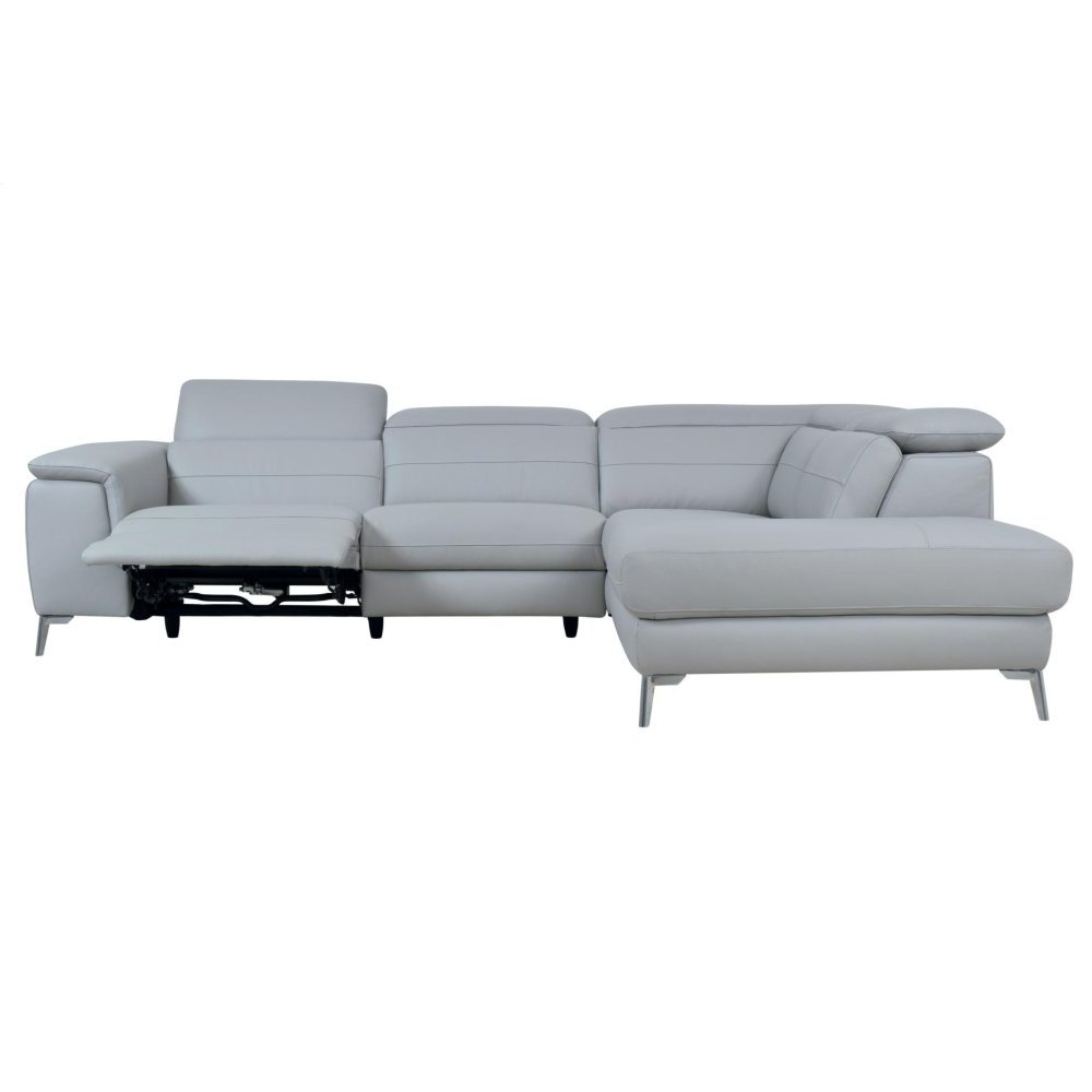 2-Piece Sectional Set, All Genuine Leather