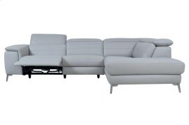 2PC SET:SECTIONAL, ALL GENUINE LEATHER