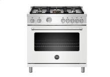"36"" Master Series range - Electric oven - 5 aluminum burners"
