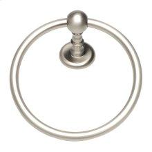 Emma Bath Towel Ring - Brushed Nickel