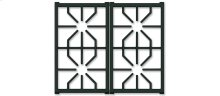 """30"""" Professional Gas Cooktop Grate Set"""