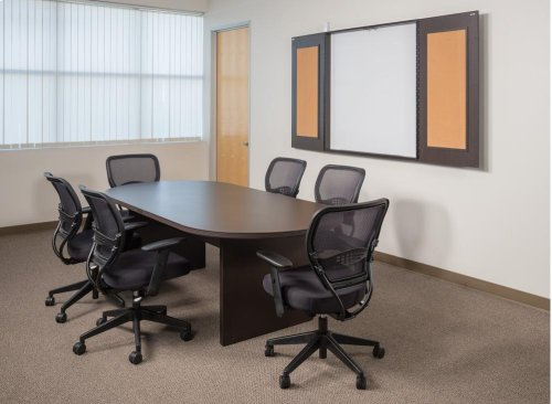 """Napa 95""""x44"""" Racetrack Conference Table"""