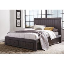 Heath Full Storage Bed