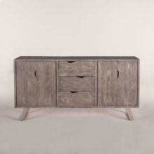 "London Loft Sideboard 68"" Weathered Gray"