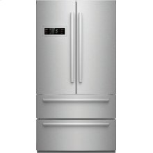 800 Series French Door Bottom freezer, 3 doors Stainless steel B21CL80SNS
