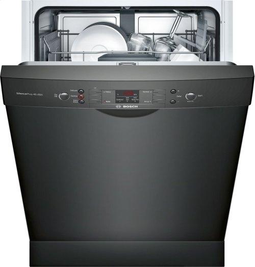 "ADA 24"" 300 Series Recessed Hndl, 4/4 Cycles, 46 dBA, RckMatic, 14 Pl Stgs - BL"