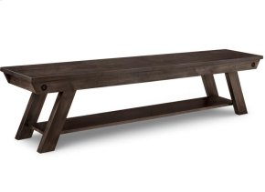 """Algoma 72"""" Bench in Fabric or Bonded Leather"""