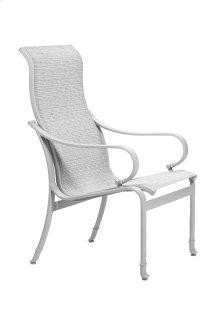 Torino Sling High Back Dining Chair
