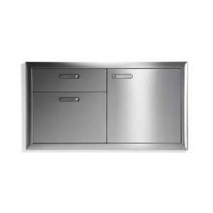 "Lynx42"" Storage door & double drawer"