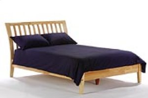 Nutmeg Bed in Natural Finish