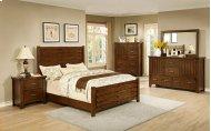 5 PC Bedroom Includes: Queen bed, Dresser & Mirror