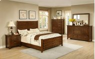 5 PC Bedroom Includes: Queen bed, Dresser & Mirror