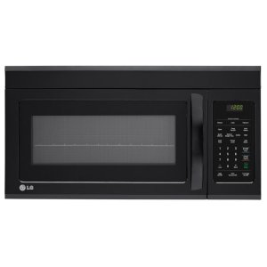 1.8 cu.ft. Over-the-Range Microwave Oven - SMOOTH BLACK