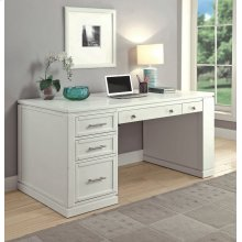 Catalina Two piece 60 in. Writing Desk with PWR Ctr and USB