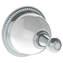 Wall Mounted Robe Hook (available With Ferrara White or Cordoba Black Marble)