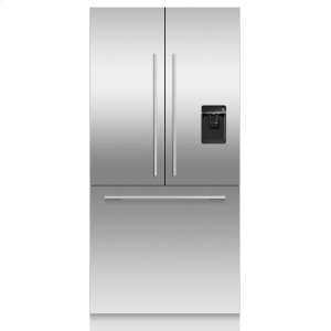 Fisher & PaykelIntegrated French Door Refrigerator 16.8cu ft, Ice & Water